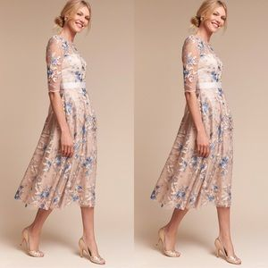 Anthropologie x BHLDN Hitherto Linden Dress
